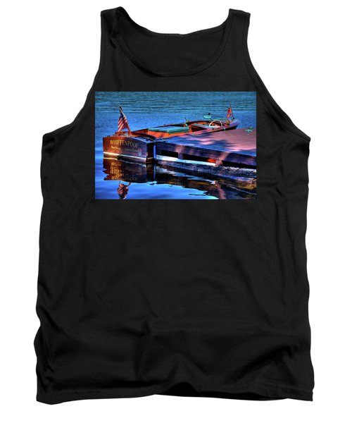 The Vintage 1958 Chris Craft Tank Top by David Patterson