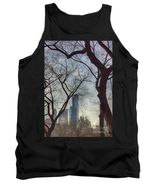 The City Through The Trees Tank Top
