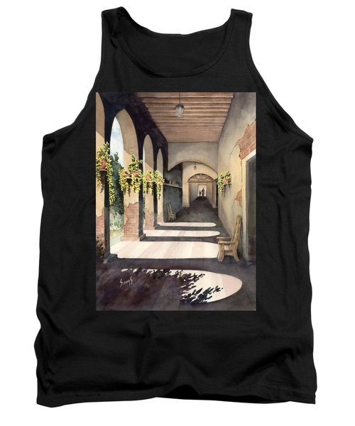 The Corridor 2 Tank Top by Sam Sidders