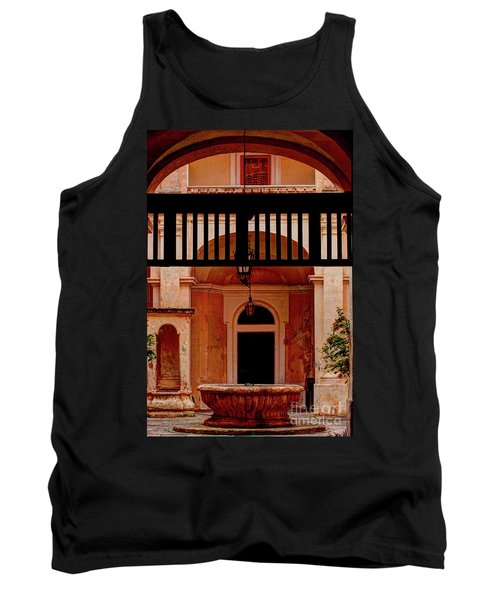 The Court Yard Malta Tank Top by Tom Prendergast