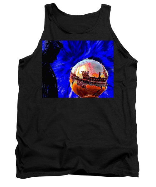 Humanity Calmly Watches The Extinction Tank Top