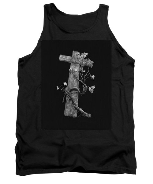 The Cross And The Vine Tank Top