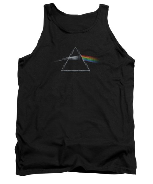 The Dark Side Of The Ugly Christmas Sweater Cool Dark Side Of The Moon Music Parody Tank Top
