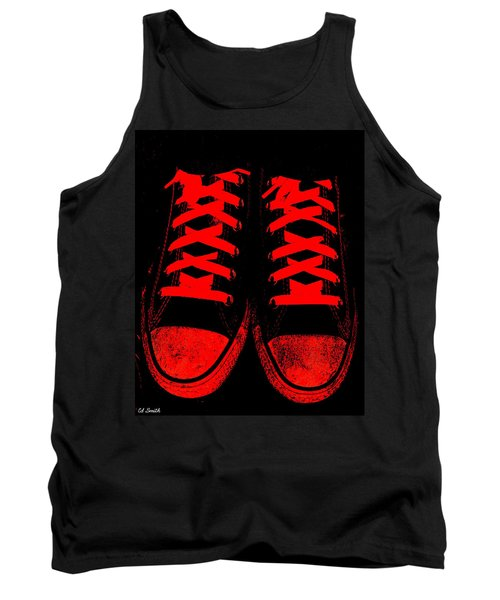 The Devil Wears Converse Tank Top