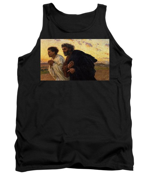 The Disciples Peter And John Running To The Sepulchre On The Morning Of The Resurrection Tank Top