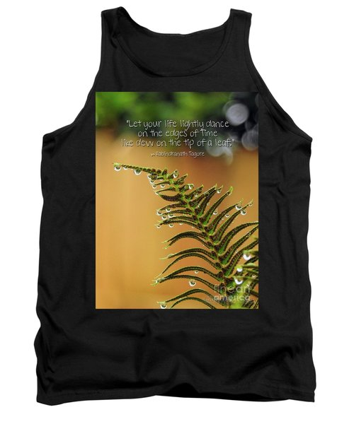 Tank Top featuring the photograph The Edges Of Time by Peggy Hughes