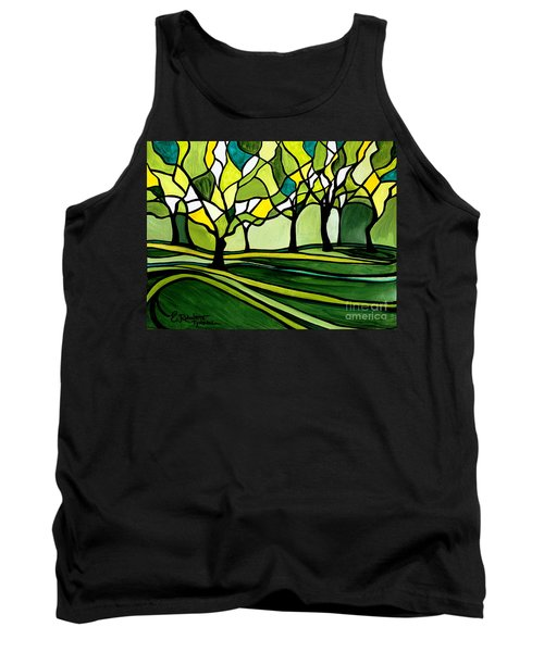 The Emerald Glass Forest Tank Top