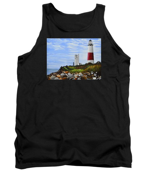 The End Tank Top by Donna Blossom