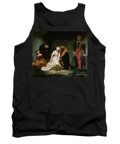 The Execution Of Lady Jane Grey Tank Top by Hippolyte Delaroche