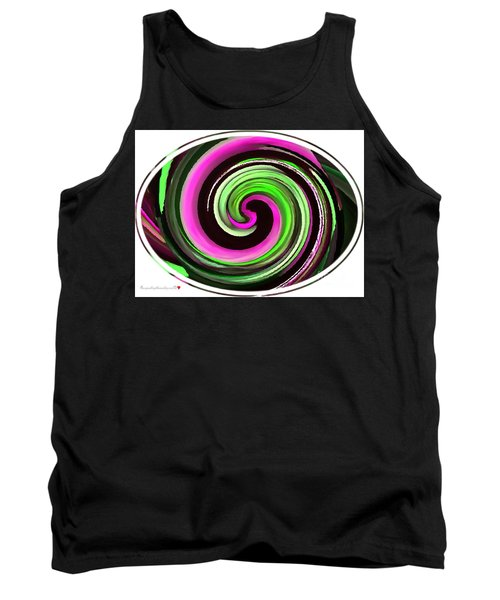 Tank Top featuring the painting The Eye by Catherine Lott