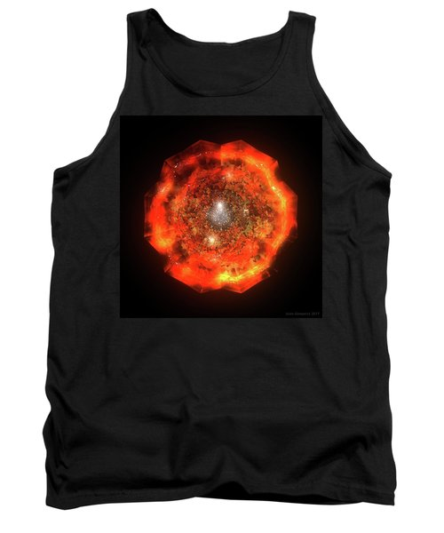 The Eye Of Cyma - Fire And Ice - Frame 146 Tank Top