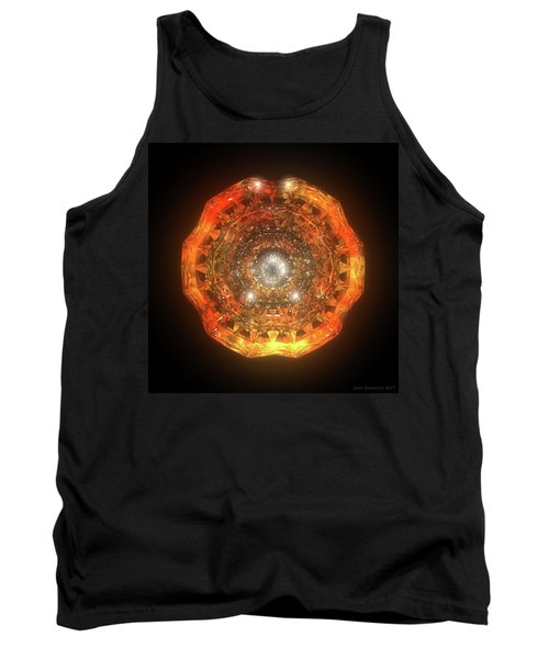The Eye Of Cyma - Fire And Ice - Frame 160 Tank Top
