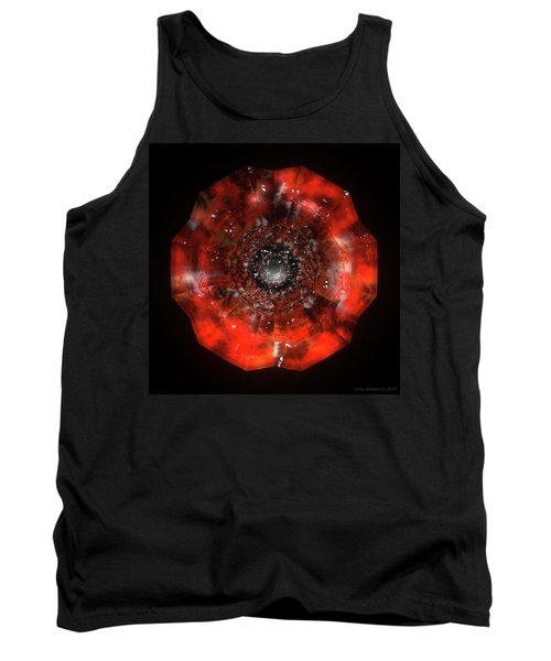 The Eye Of Cyma - Fire And Ice - Frame 45 Tank Top