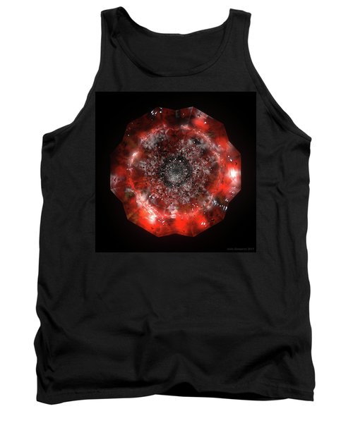 The Eye Of Cyma - Fire And Ice - Frame 49 Tank Top
