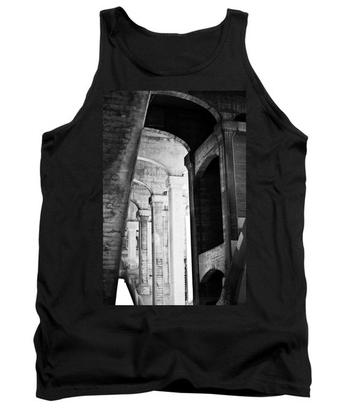 the fall of the house of Escher Tank Top