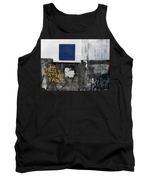 Tank Top featuring the photograph The Fallen Must Have Paint by JoAnn Lense