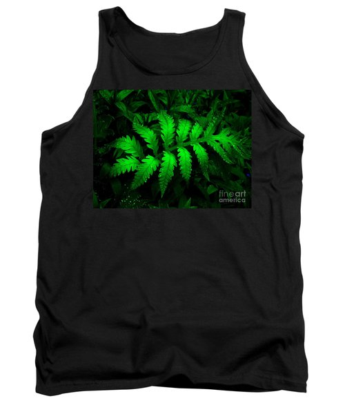 Tank Top featuring the photograph The Fern by Elfriede Fulda