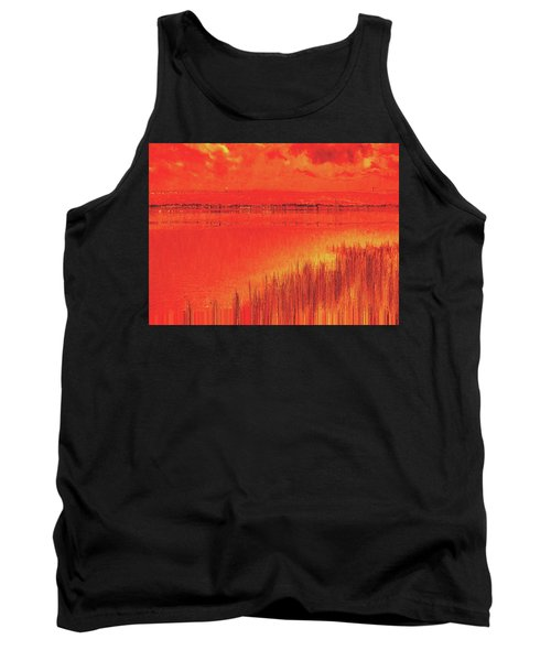 Tank Top featuring the digital art The Final Paragraph by Wendy J St Christopher