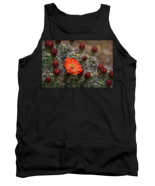 Tank Top featuring the photograph The First Bloom  by Saija Lehtonen