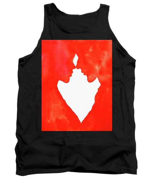 The Flame Of Love Tank Top by Iryna Goodall