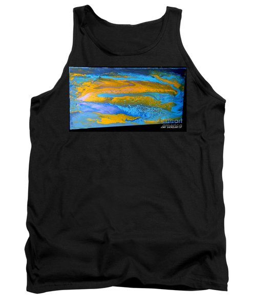 the GATOR in abstracr Tank Top