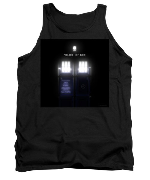 The Glass Police Box Tank Top