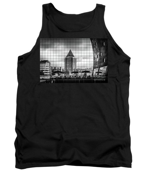 Tank Top featuring the photograph The Glass Windows Of The Market Hall In Rotterdam by RicardMN Photography