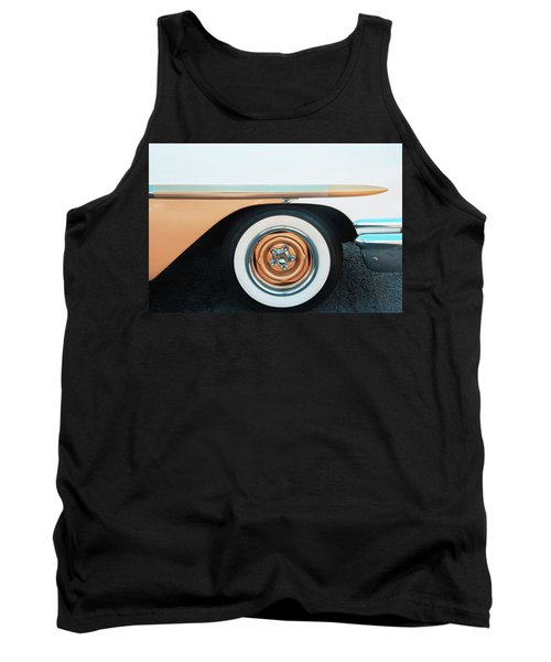 The Golden Age Of Auto Design Tank Top by Gary Slawsky