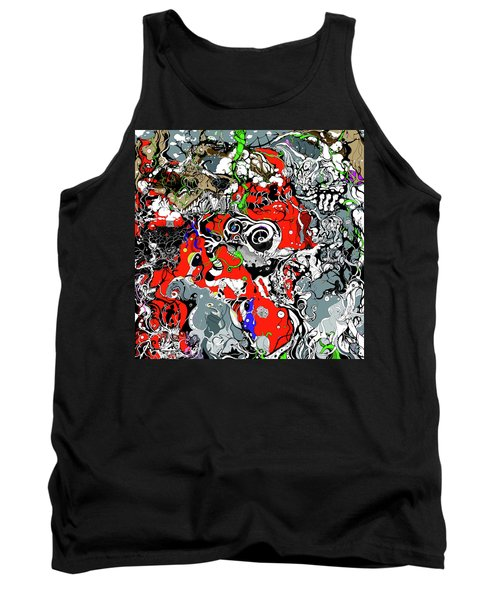 The Grapevine Wall Section 1 Tank Top