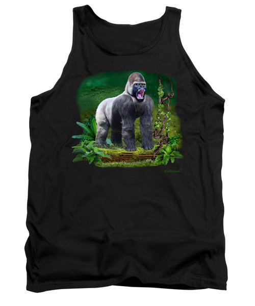 The Guardian Of The Rain Forest Tank Top by Glenn Holbrook