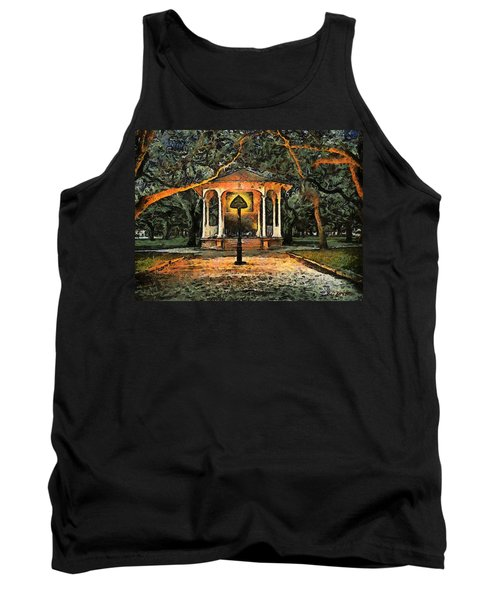 The Haunted Gazebo Tank Top by RC deWinter