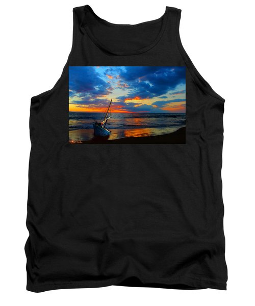 The Hawaiian Sailboat Tank Top