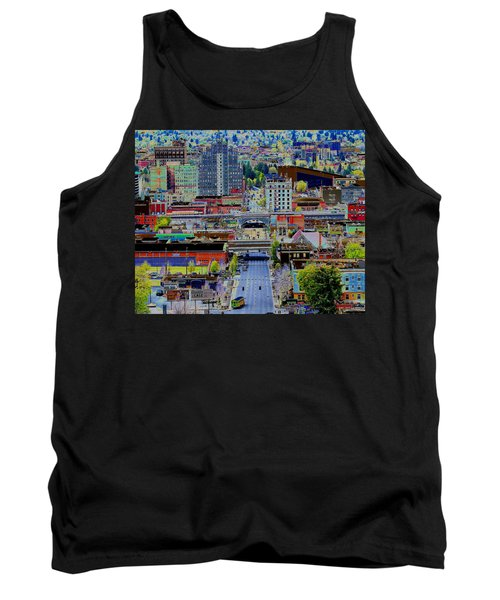 The Heart Of Downtown Spokane  Tank Top