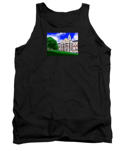 The Hill Tank Top by Jean Pacheco Ravinski