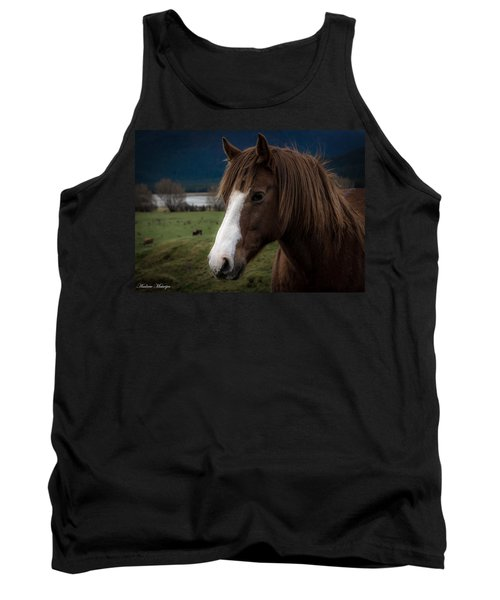 The Horse Tank Top by Andrew Matwijec
