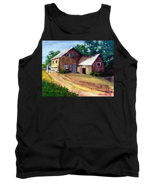 The House Barn Tank Top