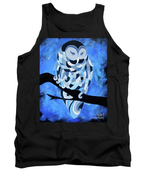 The Ice Owl Tank Top