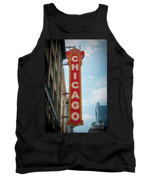 The Iconic Chicago Theater Sign Tank Top
