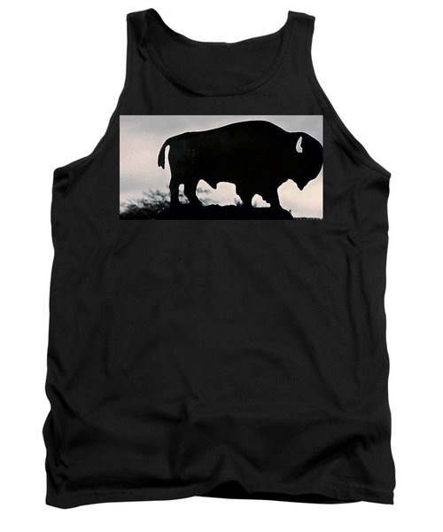 Tank Top featuring the photograph The Iron Buffalo Push by John Glass