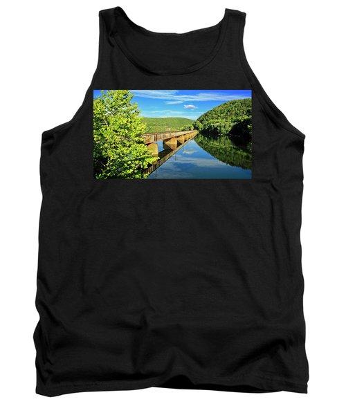The James River Trestle Bridge, Va Tank Top