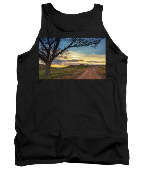 The Journey Home Tank Top by Tassanee Angiolillo
