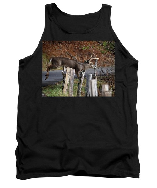 The Jumper 2 Tank Top by Douglas Stucky