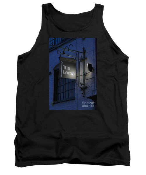 The Lamp Tank Top by David  Hollingworth