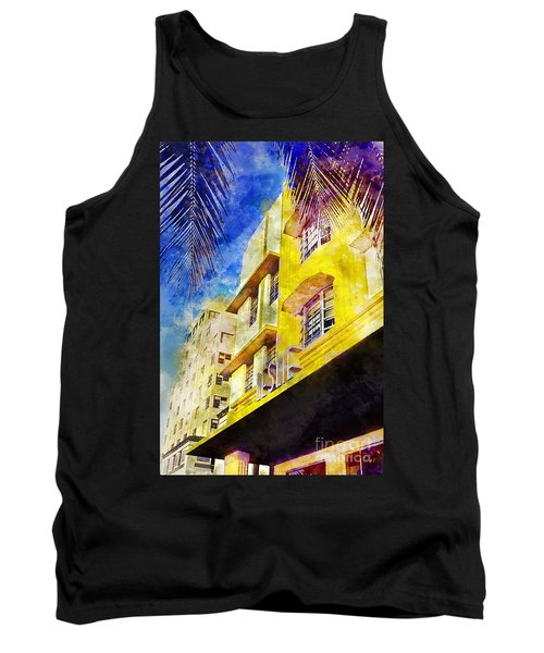 The Leslie Hotel South Beach Tank Top