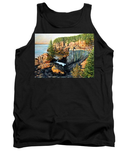 The Light Dawns On West Quoddy Head Tank Top