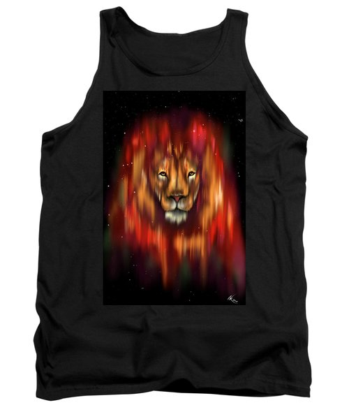 The Lion, The Bull And The Hunter Tank Top