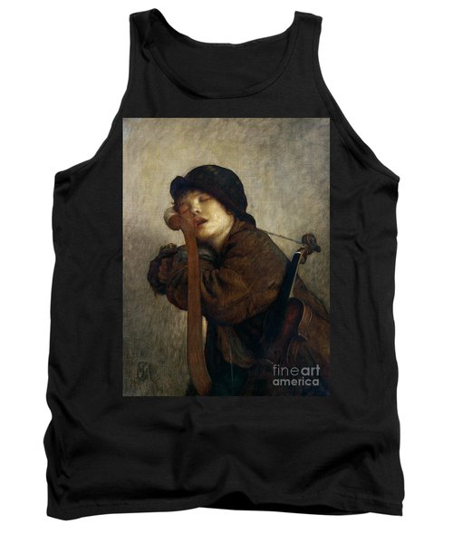 The Little Violinist Sleeping Tank Top