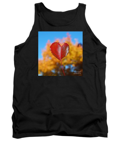The Love Of Fall Tank Top by Debra Thompson