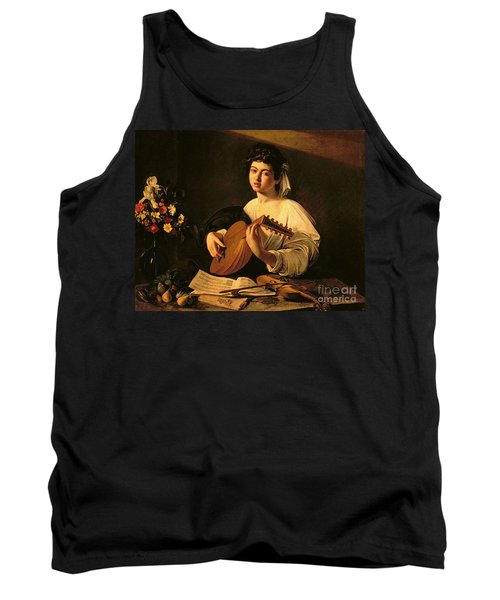 The Lute Player Tank Top