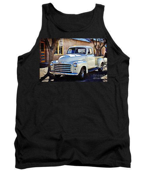 The Magic Of The 1949 Gmc 100 Tank Top by Barbara Chichester